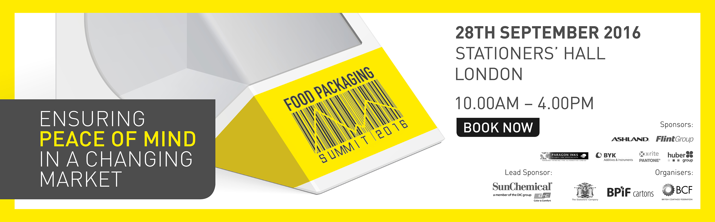 Food Packaging Summit 2016