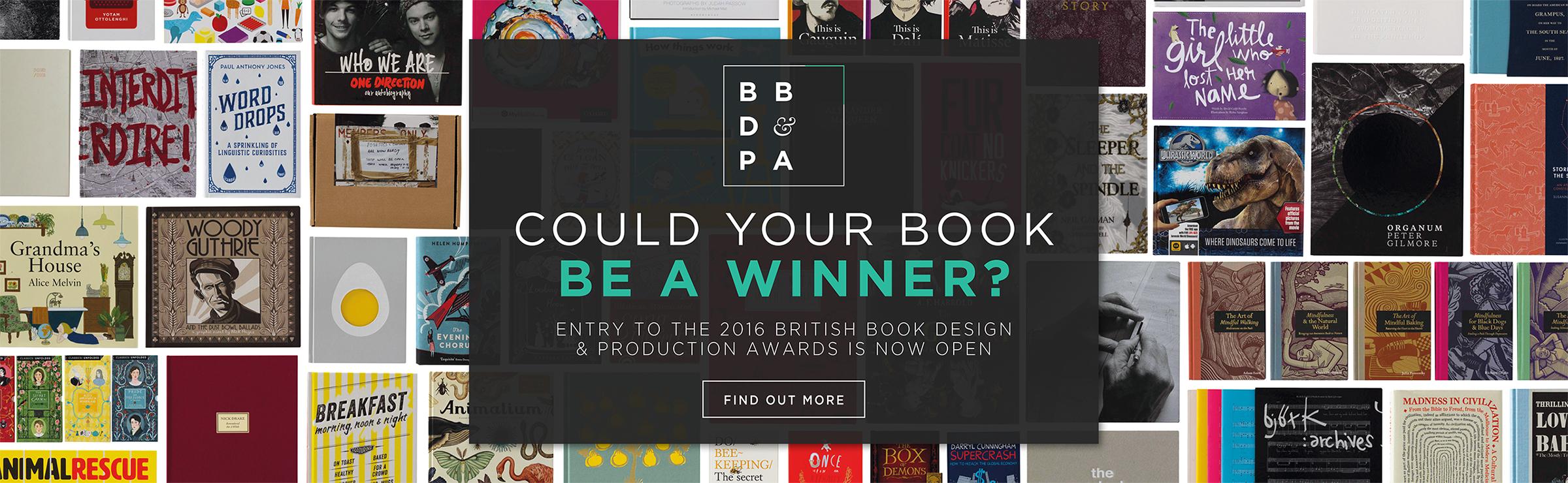 British Book Design and Awards 2016