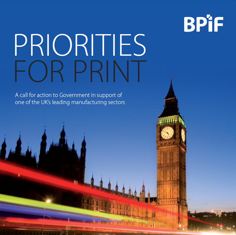 Priorities for Print 2009 - 2011