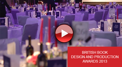British Book Design and Production Awards 2013