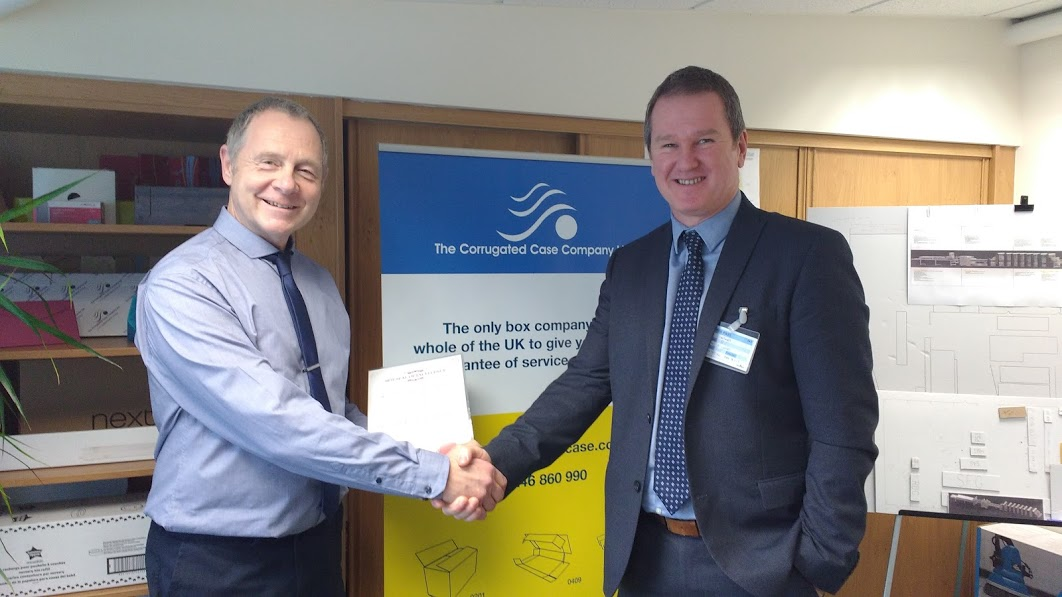 Corrugated Case achieves BPIF HR Seal of Excellence