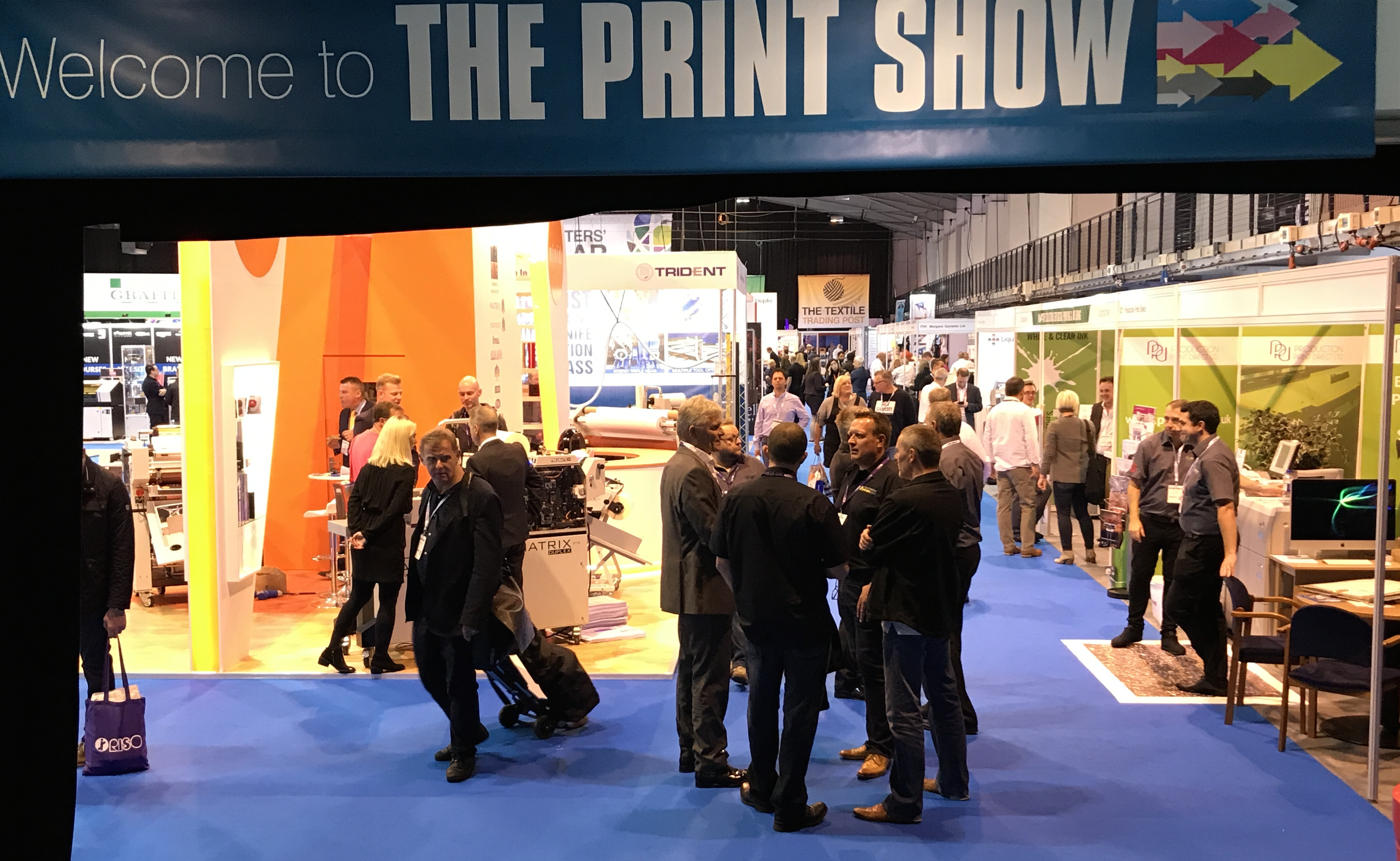 The Print Show confirms NEC return for 2018 after 2017 event delivers on its promises
