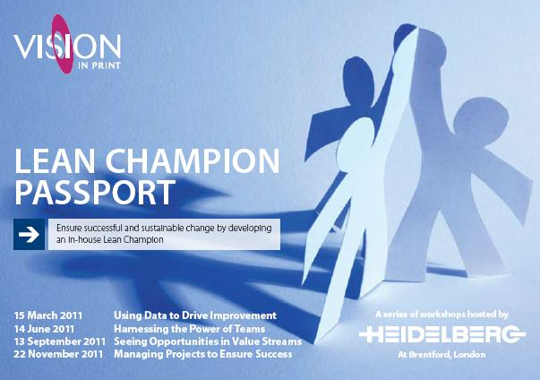 Managing Projects to Ensure Success - Lean Champion Passport