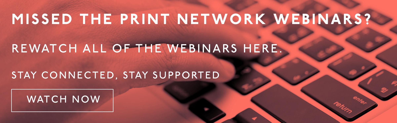 Print Network Webinars