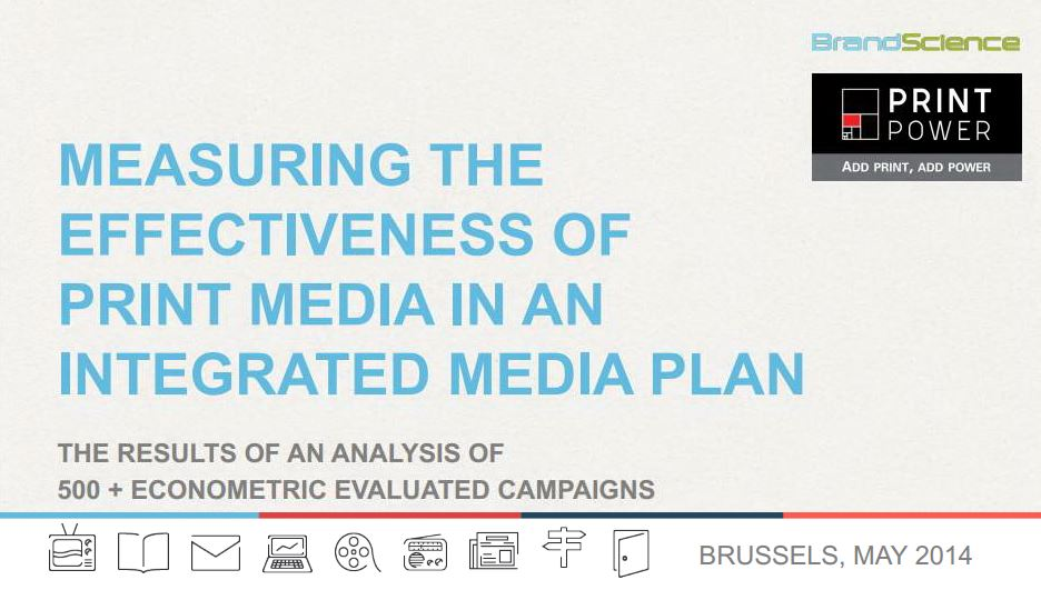 Measuring the Effectiveness of Print Media in an Integrated Media Plan