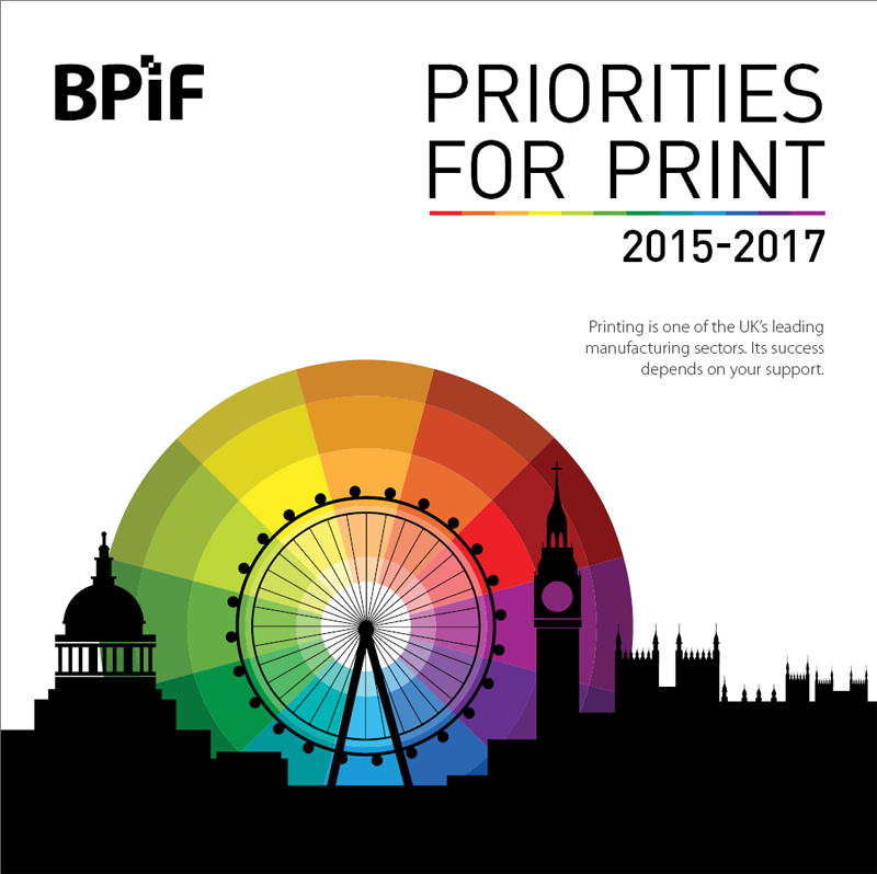 Priorities for Print 2015 - 2017