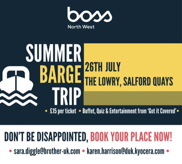 BOSS North West Summer Barge Trip