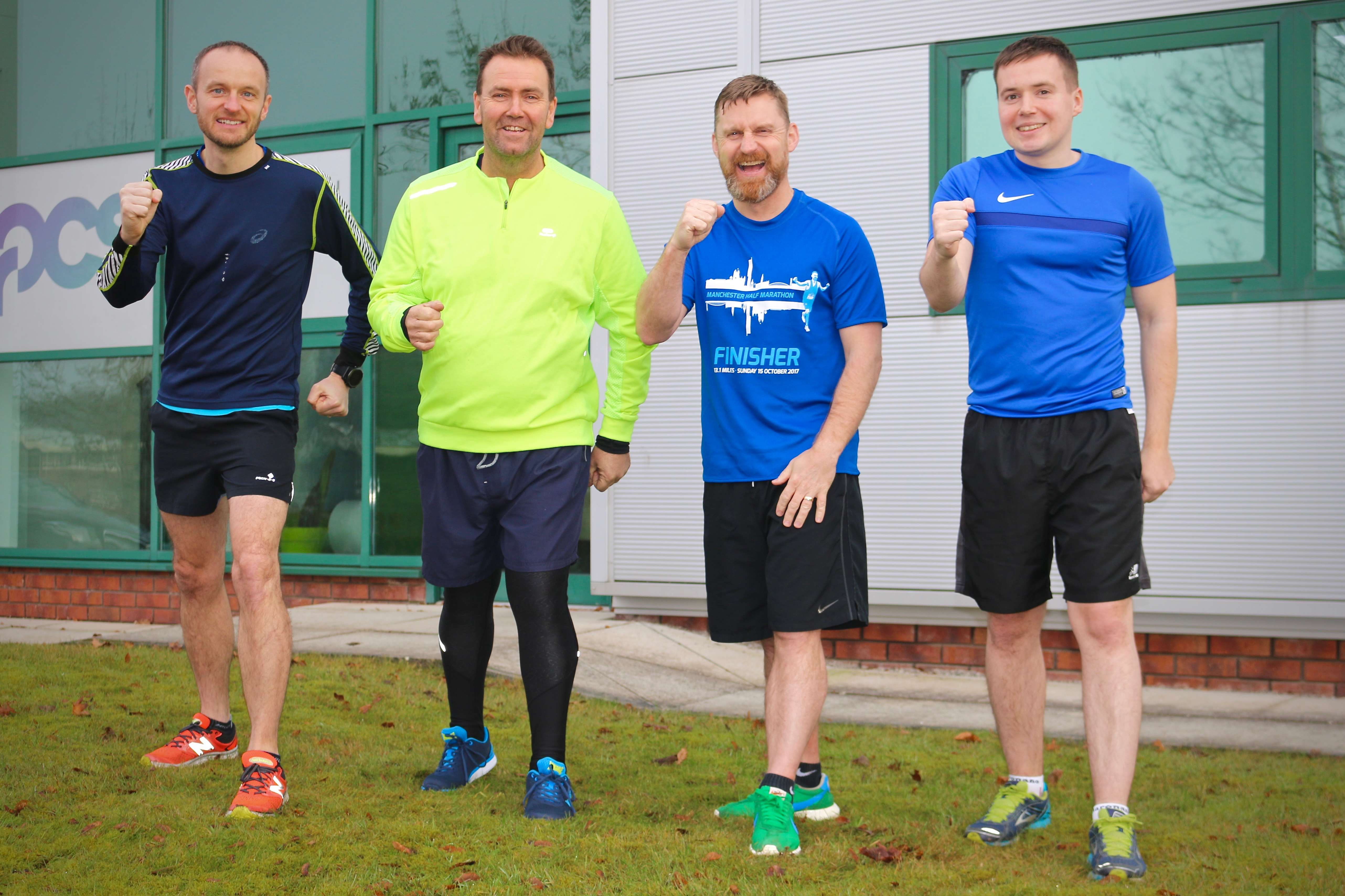 PCS Take on Wilmslow Half Marathon in Aid of the Matthew Nicholls Trust