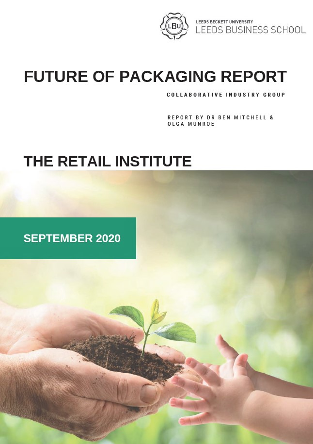 The Retail Institute's Future of Packaging Report