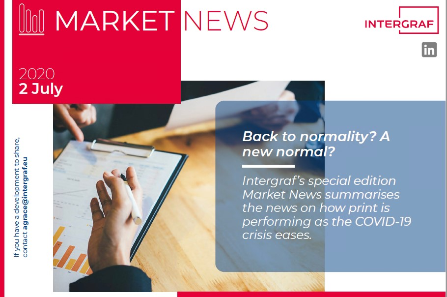 Intergraf Market News - 2 July 2020