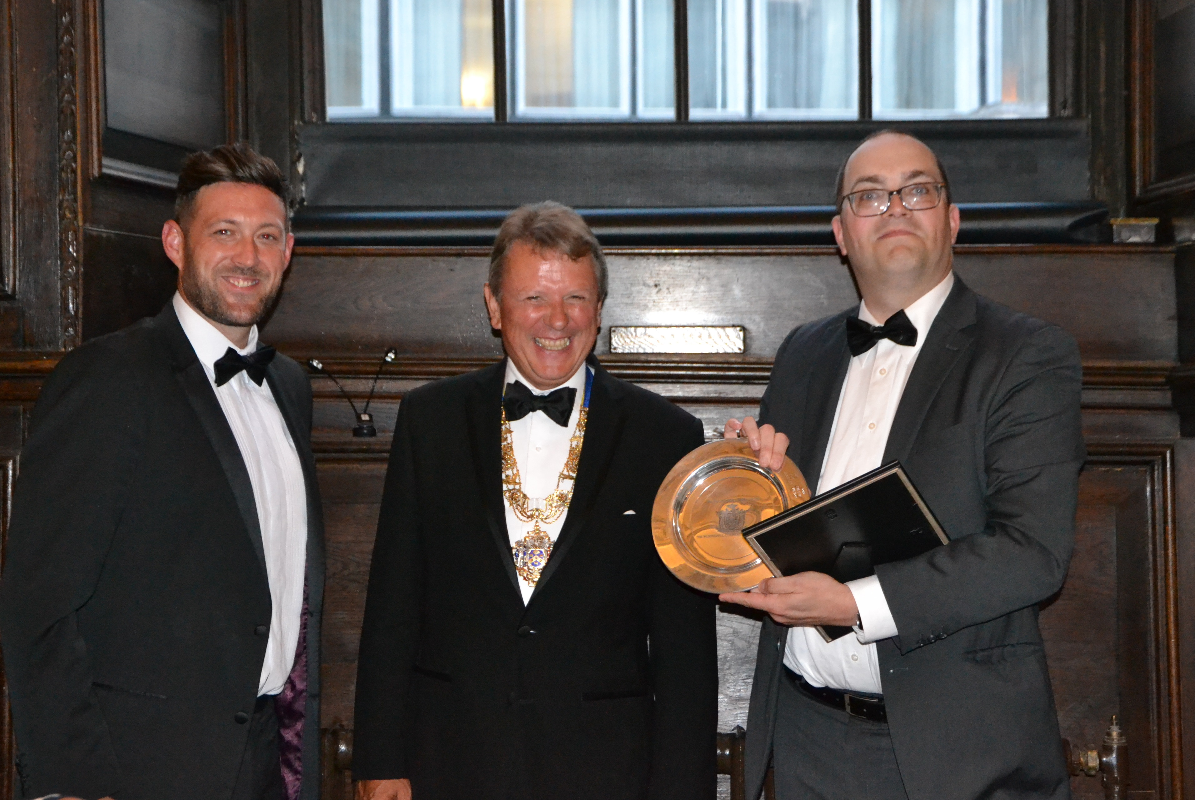Dr Shane Tilton wins Young Stationers' Prize