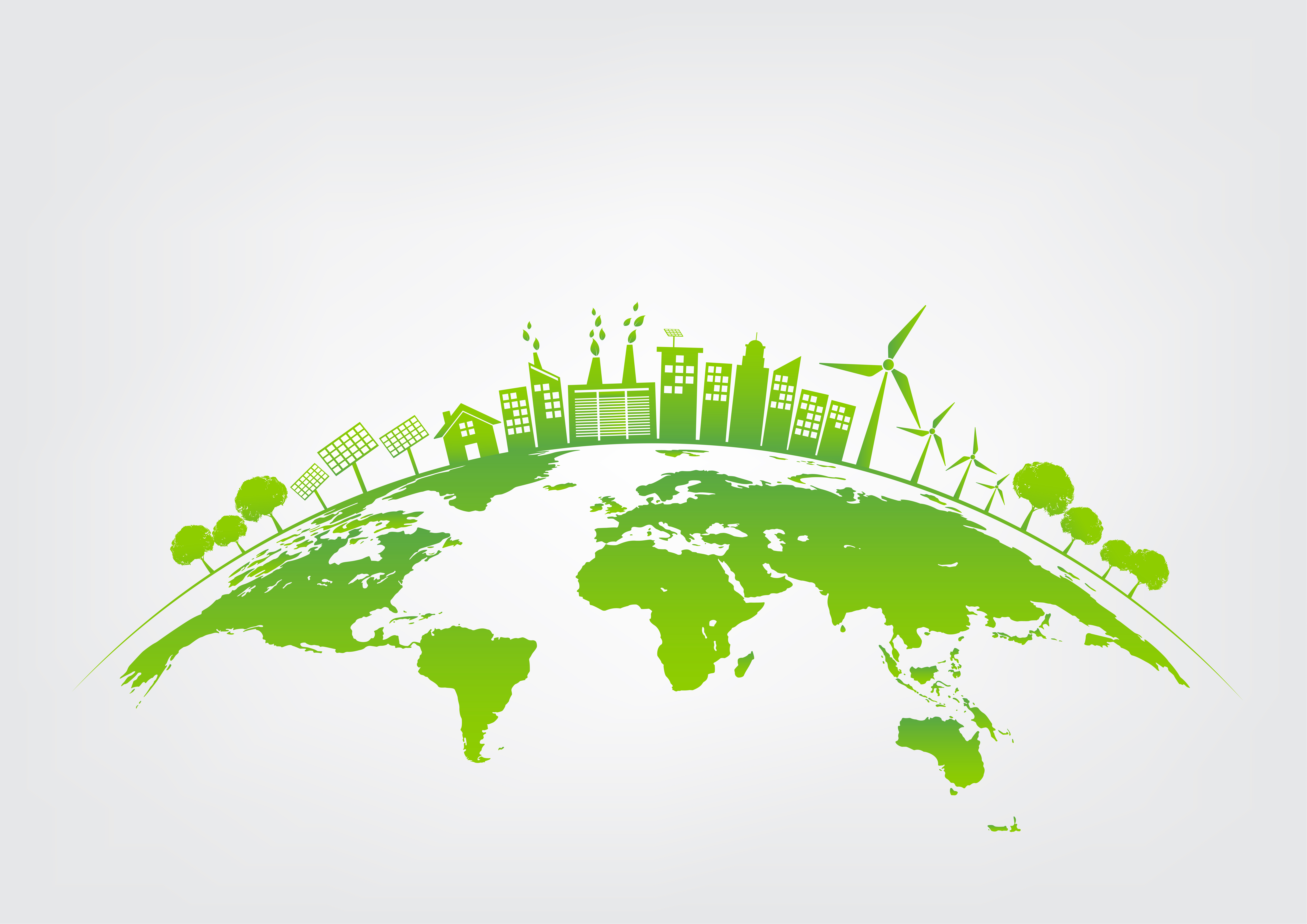Экология картинки в векторе