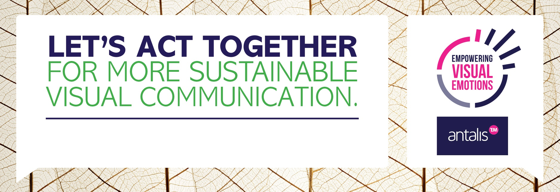 Antalis launches its global initiative for a more sustainable visual communication industry
