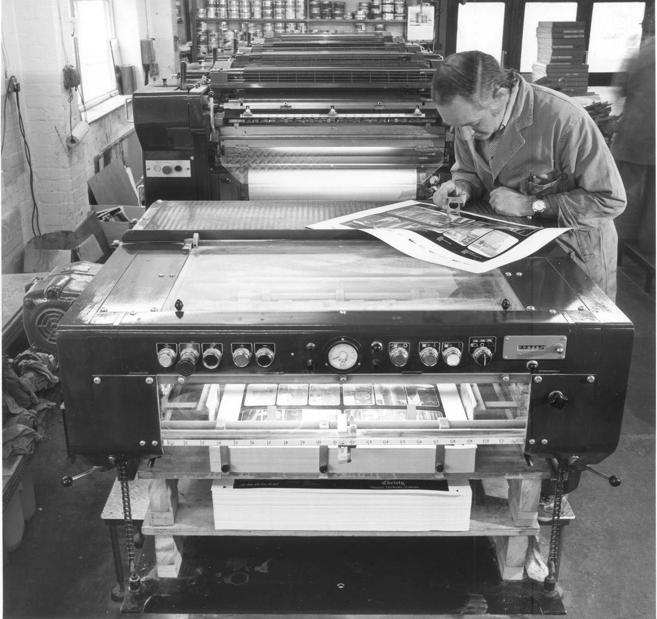Print history exhibition hopes to bring former-print workers together