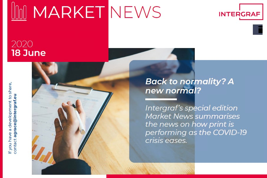 Intergraf Market News - 18 June 2020