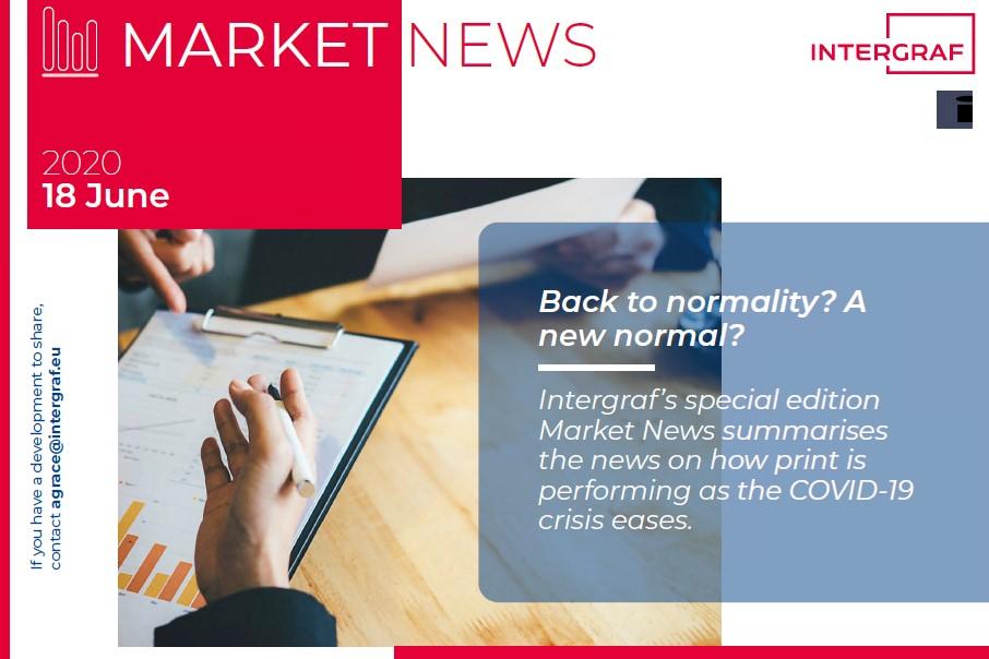 Intergraf Market News - 18 June 2020