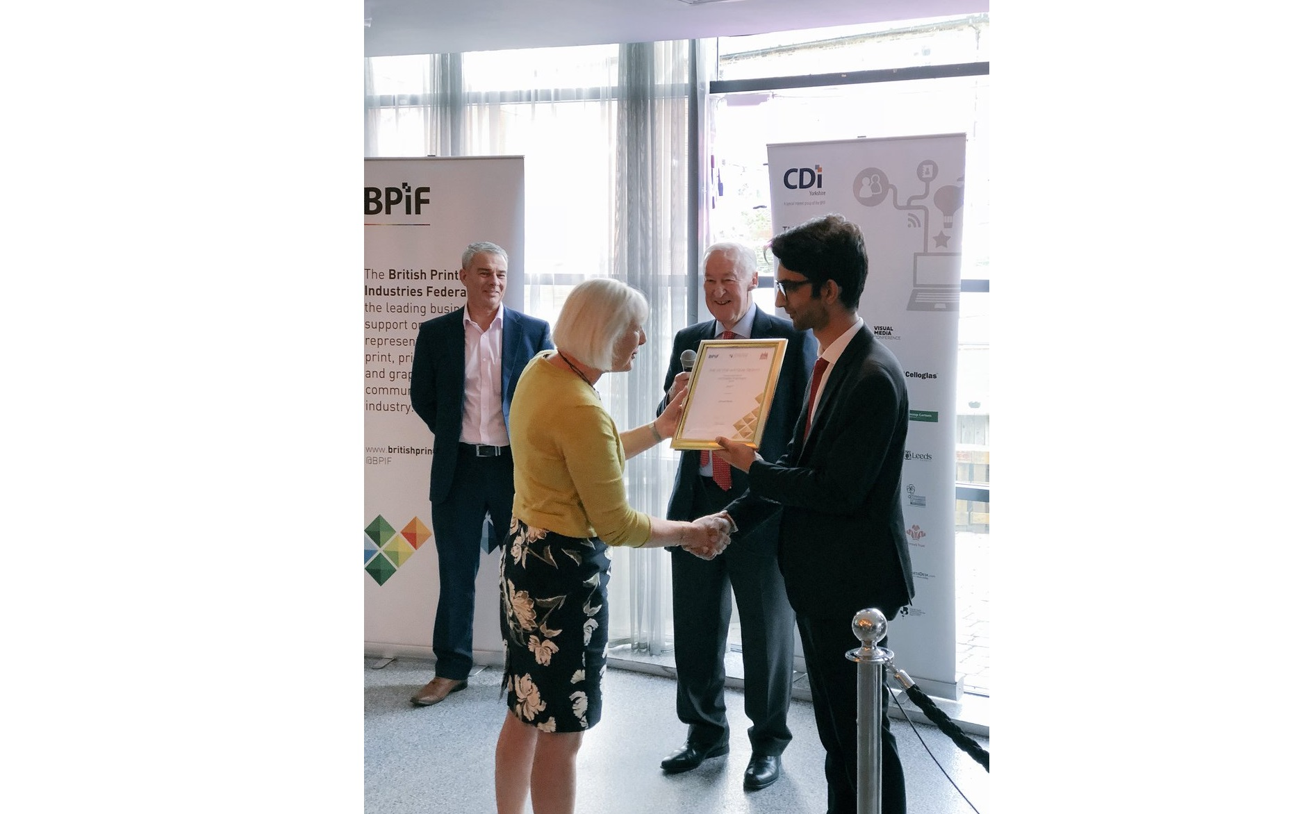 The BPIF and CDi mark Yorkshire Day with an event to celebrate the print, creative and digital industries