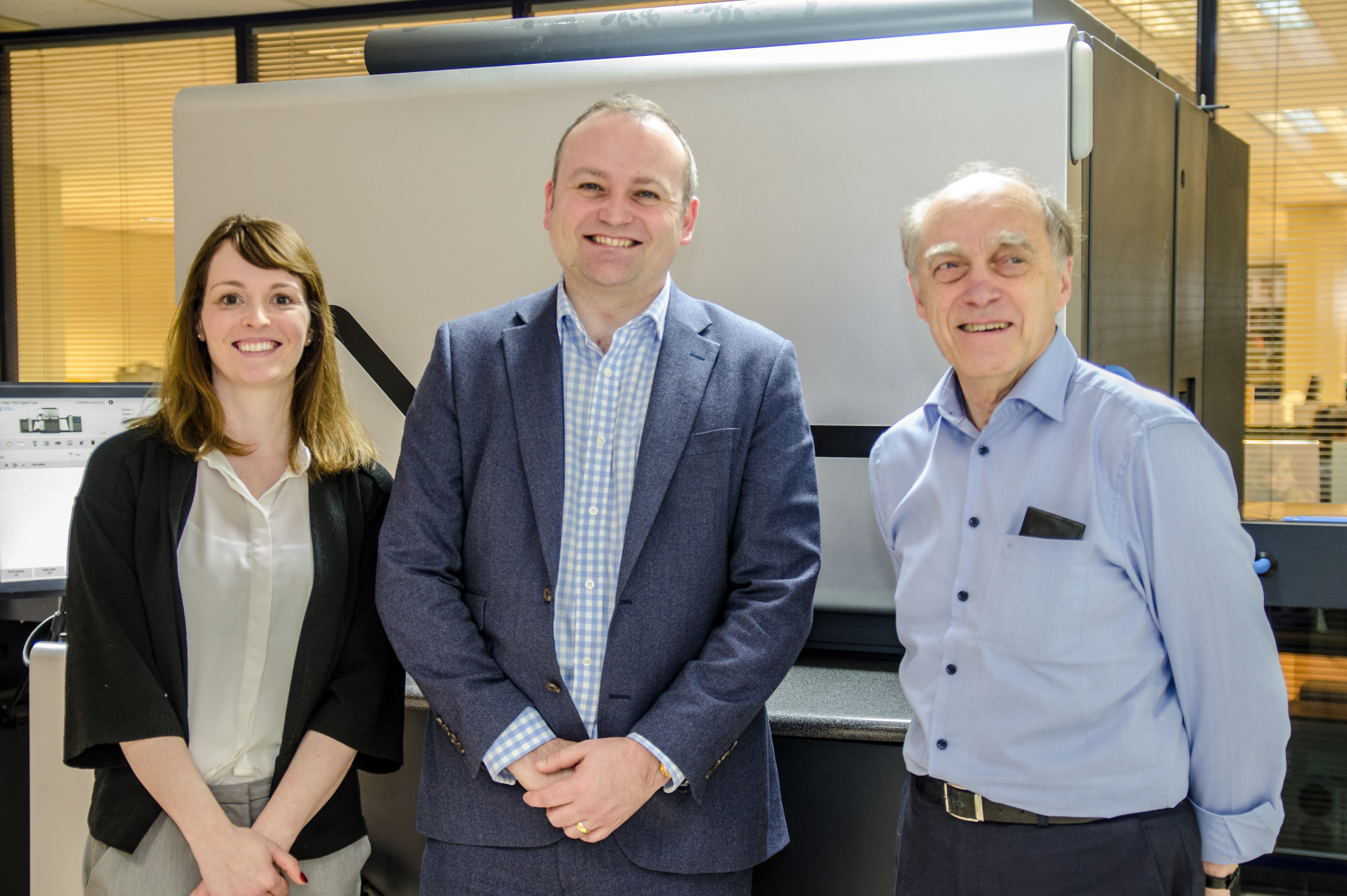 Neil Coyle MP visits FE Burman, Print and New Media