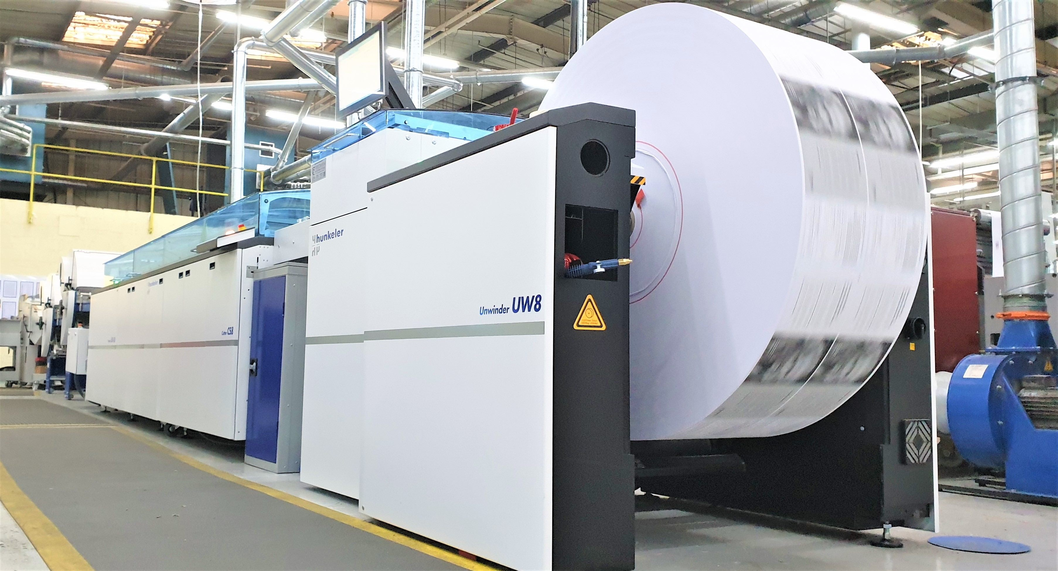 Integrity Print doubles capacity with Hunkeler Gen 8 finishing line